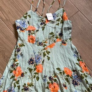 Free people light weight fit and flare dress